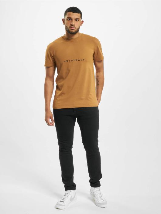 Jack & Jones T-Shirt jorCopenhagen brun
