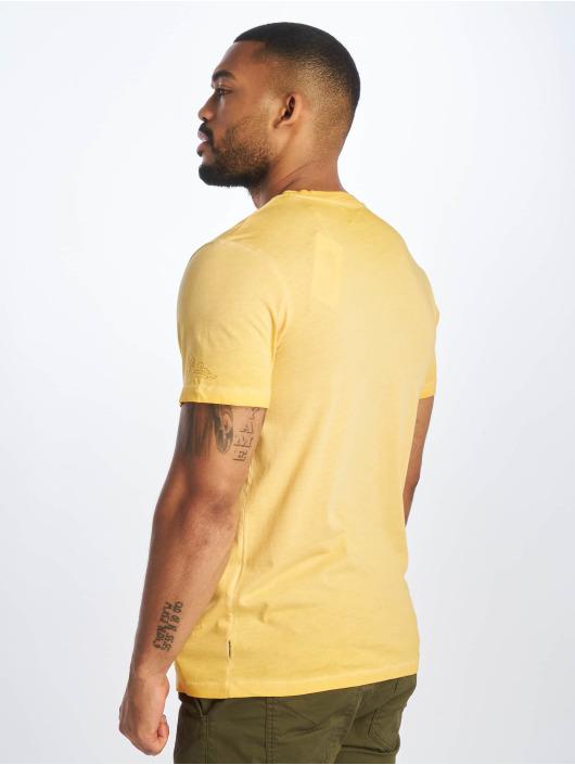 Jack & Jones t-shirt jorKarsen geel