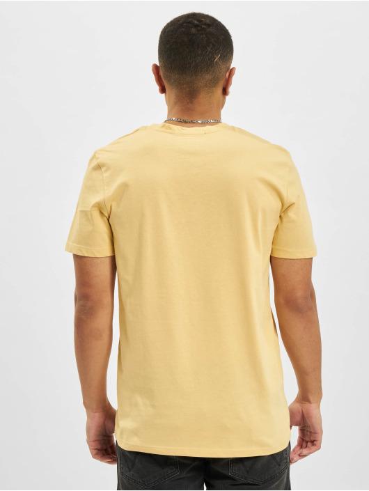 Jack & Jones t-shirt Jorcabana Crew Neck geel