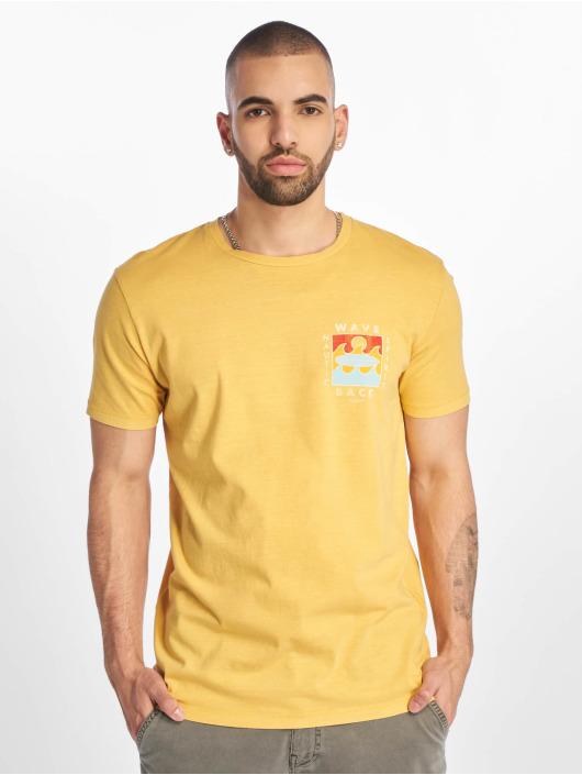 Jack & Jones T-Shirt jorSurfsoul gelb