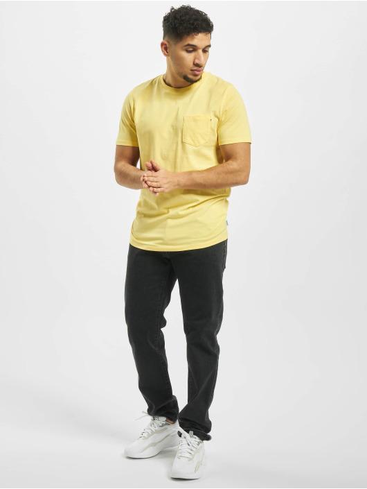 Jack & Jones T-Shirt jjePocket O-Neck Noos gelb