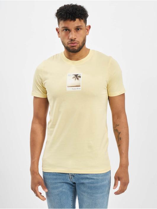 Jack & Jones T-Shirt jorDylant gelb