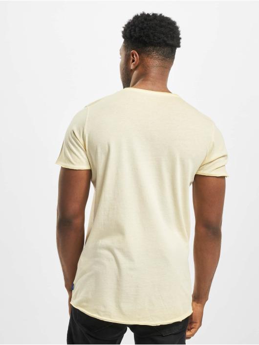 Jack & Jones T-Shirt jorKris BAS Crew Neck gelb