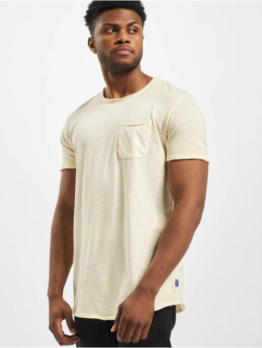 Jack & Jones T-Shirt jorKris Bas gelb