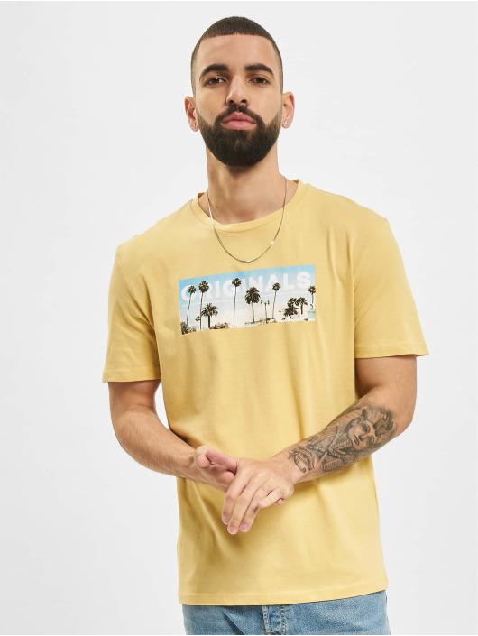 Jack & Jones T-Shirt JOR Azure gelb