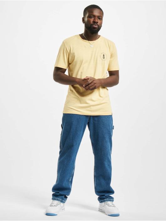 Jack & Jones T-Shirt Jorpoolside gelb