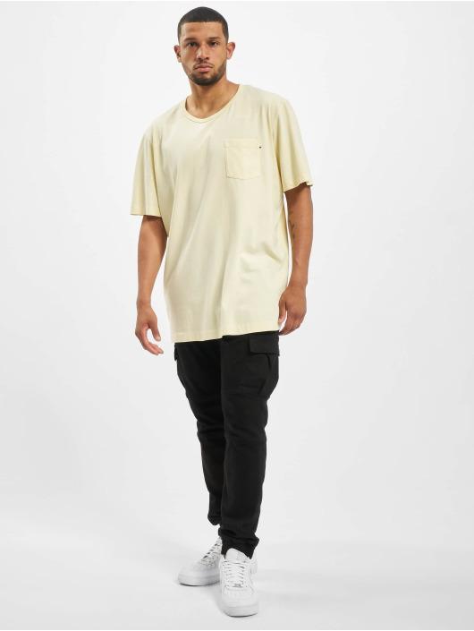 Jack & Jones T-shirt jjeJeans Wash Camp giallo