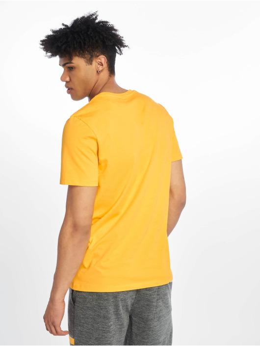 Jack & Jones T-Shirt jcoSpring-Feel goldfarben