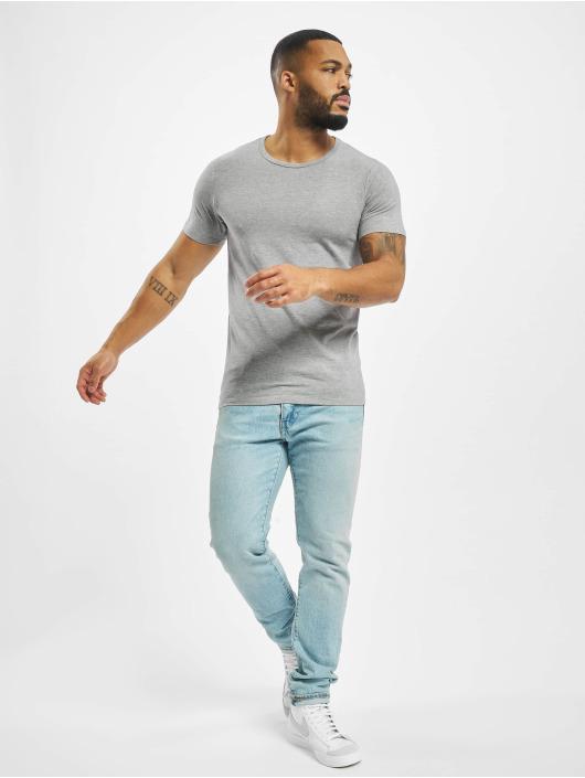 Jack & Jones T-Shirt Basic O-Neck grau