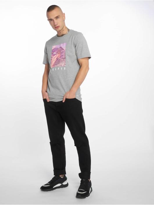 Jack & Jones T-Shirt jorMessenger grau