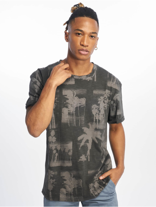 Jack & Jones T-Shirt jorPhotopalm grau