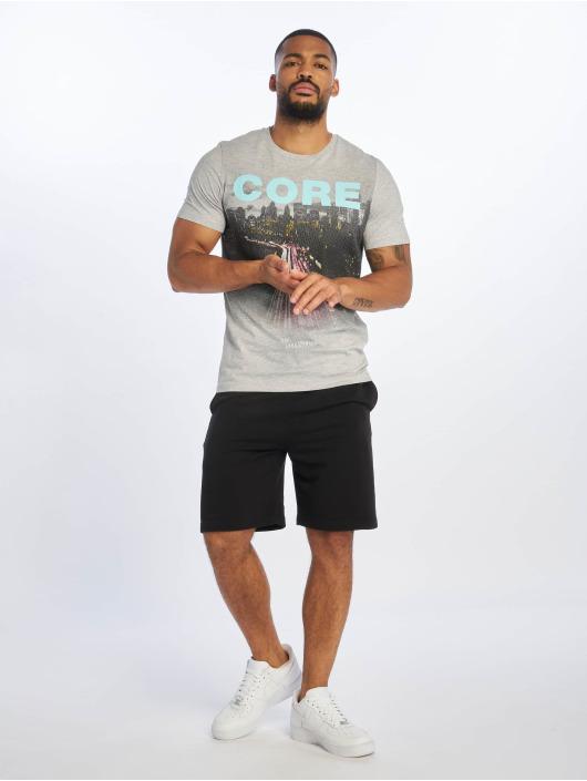 Jack & Jones T-Shirt jcoAutumn grau