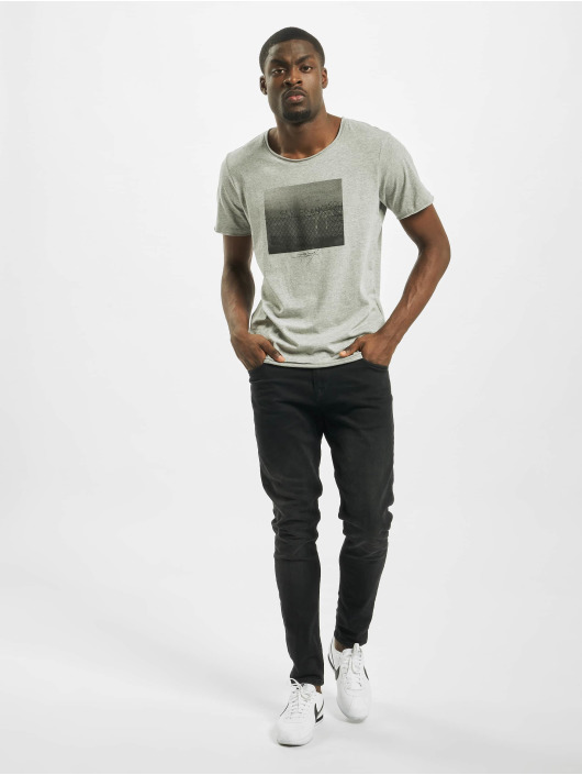 Jack & Jones T-Shirt jorDark City grau