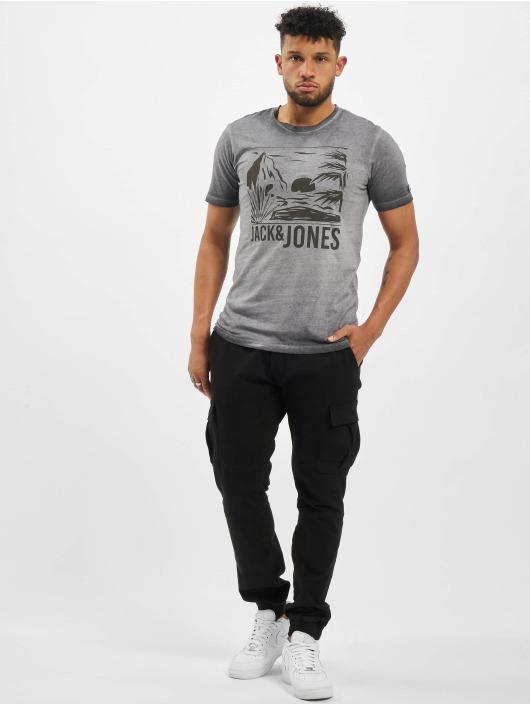 Jack & Jones T-Shirt jorAbre grau