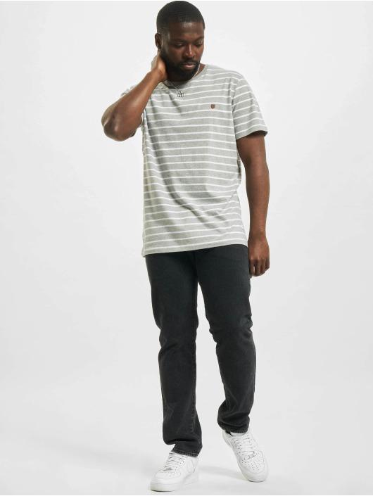 Jack & Jones T-Shirt jprBlutom Stripe grau