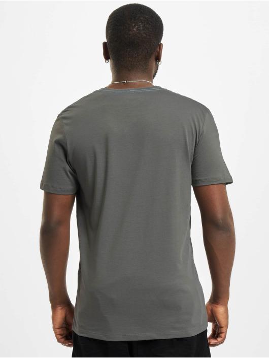 Jack & Jones T-Shirt Jorocto Crew Neck grau