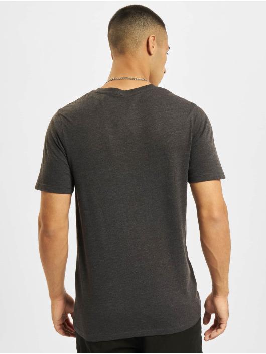 Jack & Jones T-Shirt Jjejeans O-Neck grau