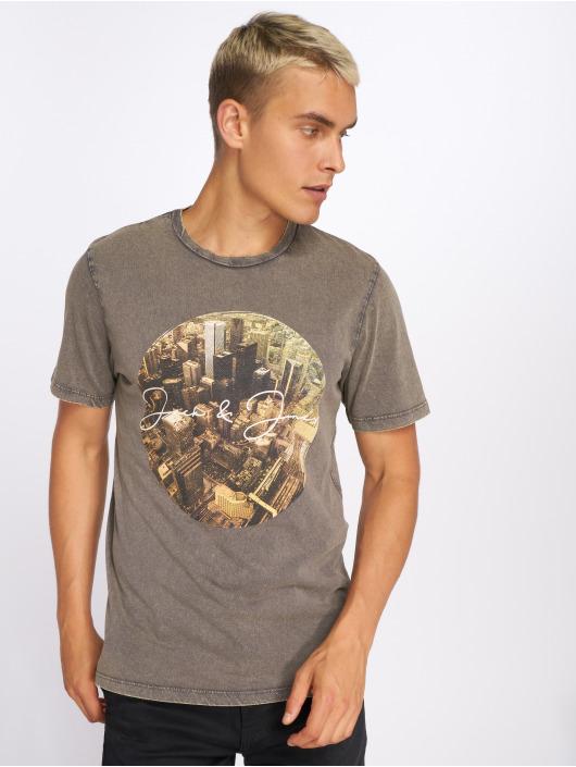 Jack & Jones T-Shirt jorCityAcid gray