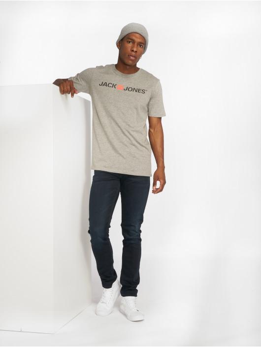 Jack & Jones T-Shirt jjeCorp Logo gray