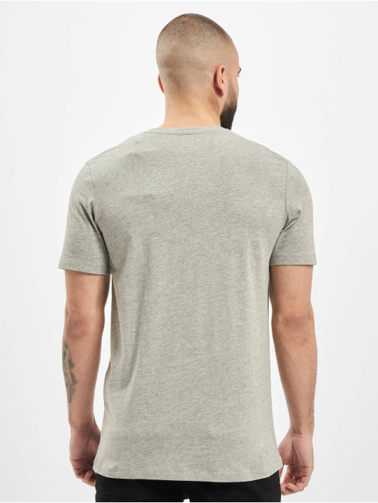 Jack & Jones T-Shirt jorLuciano Organic Crew Neck gray