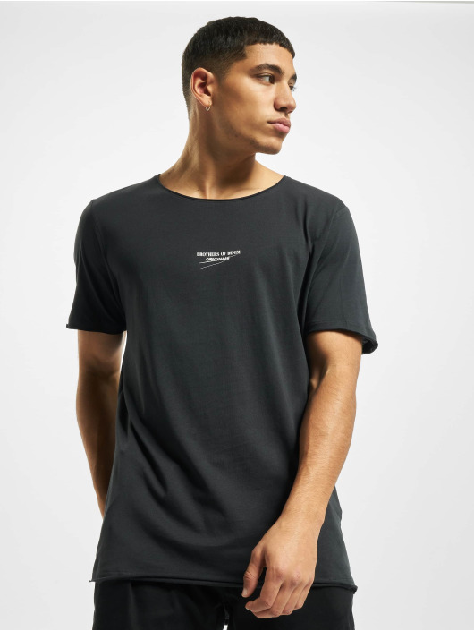 Jack & Jones T-Shirt jorSimon Crew Neck BLK gray