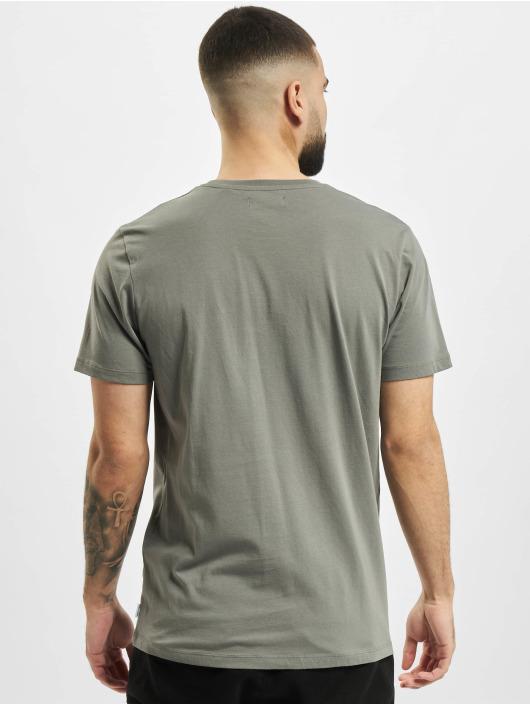 Jack & Jones T-Shirt jjCircle Flock gray