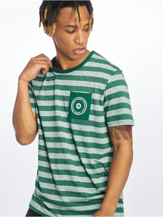 Jack & Jones T-Shirt jcoDenny green