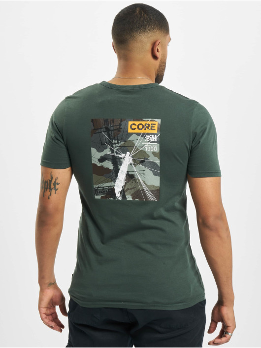 Jack & Jones T-Shirt jcoSignal green