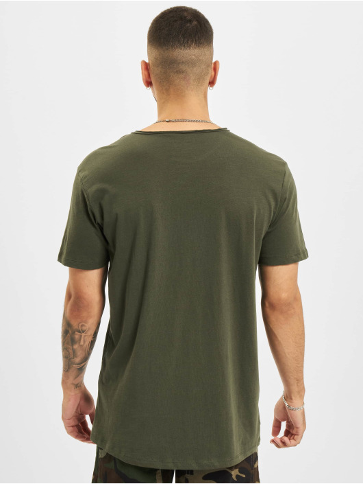 Jack & Jones T-Shirt Jjebasher O-Neck green