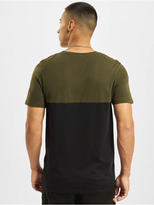 Jack & Jones T-Shirt Jjeurban Blocking O-Neck green