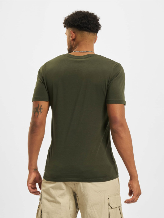 Jack & Jones T-Shirt Jjeorganic O-Neck green