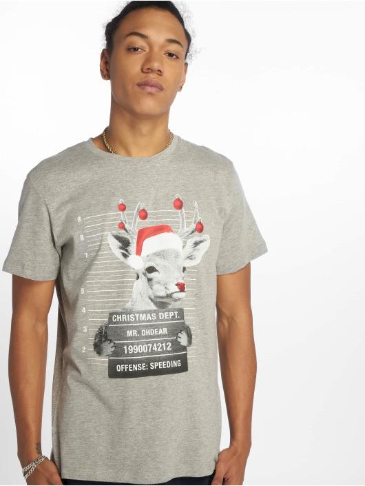 Jack & Jones T-Shirt jorPhotoxmas grey