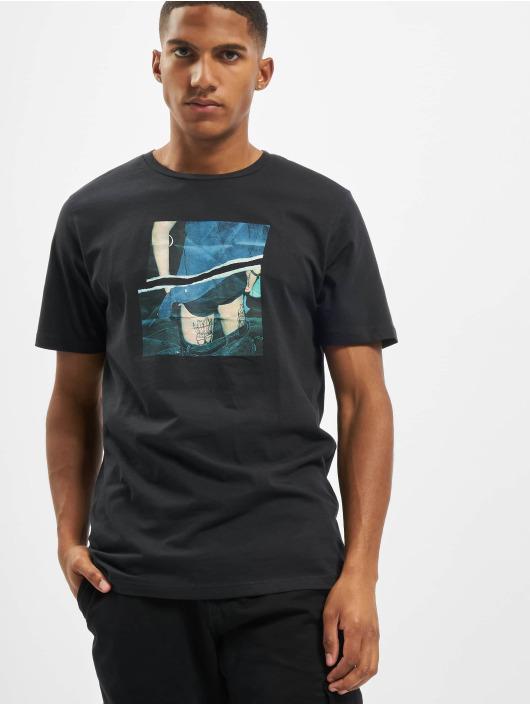 Jack & Jones T-Shirt jorCloseup Organic Crew Neck FST grey