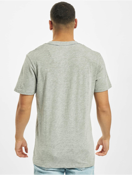 Jack & Jones T-Shirt jj30Jones Slub grey