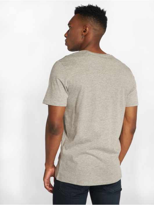 Jack & Jones t-shirt jjeCorp Logo grijs
