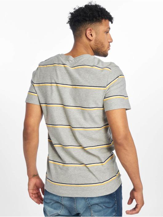 d6aa9f4e1bd Jack & Jones bovenstuk / t-shirt jorHerringbone in grijs 591842