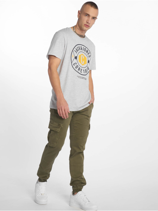 Jack & Jones t-shirt jcoFresco grijs