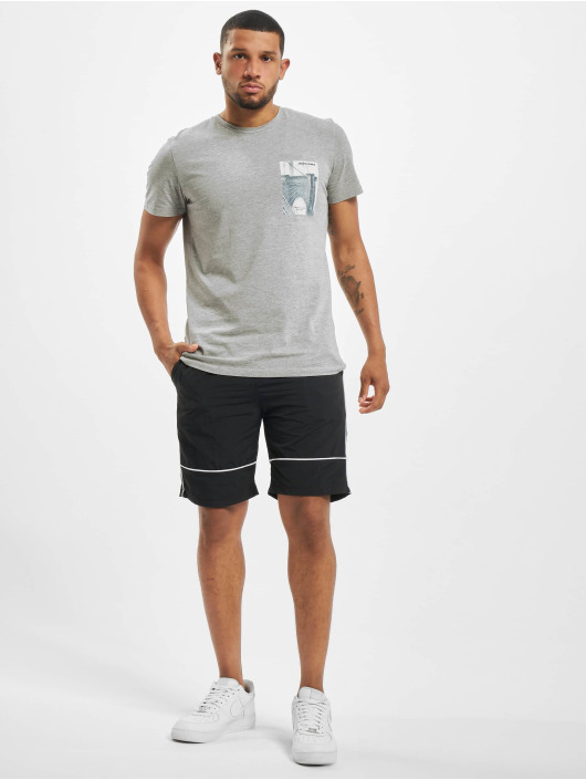 Jack & Jones t-shirt jorHolidaz grijs