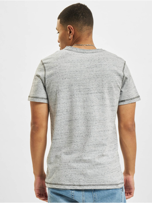 Jack & Jones t-shirt Jprblumartin Crew Neck grijs