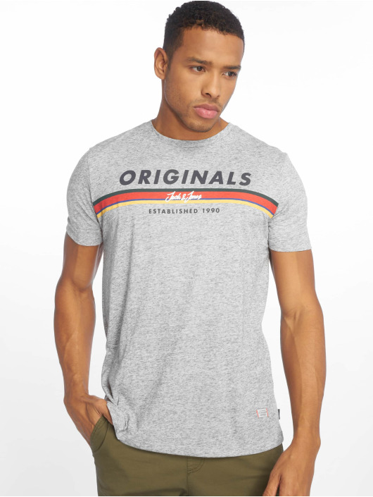 Jack & Jones T-Shirt jorTuco gris