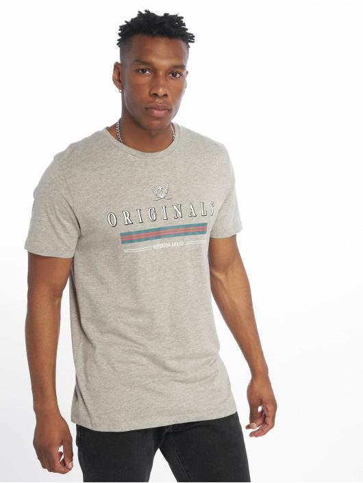 T Gris Jorvoyage Homme 623082 shirt Jackamp; Jones kXPiuOZT