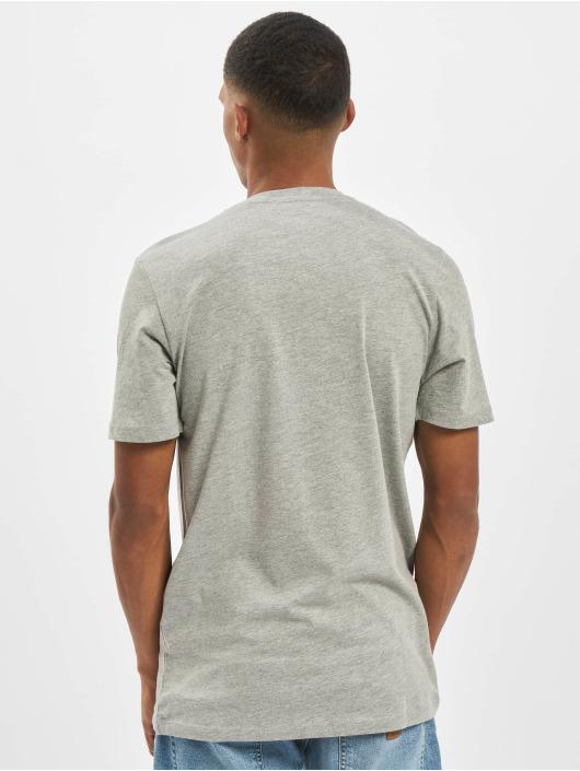 Jack & Jones T-Shirt jorCloseup Organic Crew Neck FST gris
