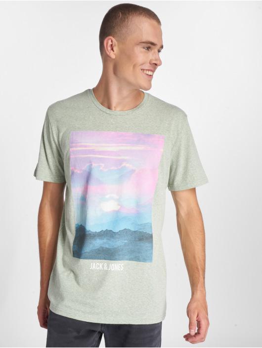 Jack & Jones T-Shirt jorStream grün