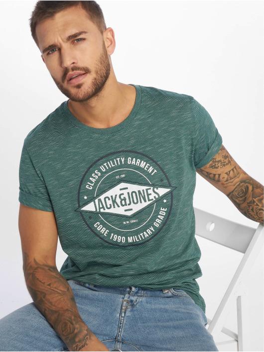 Jack & Jones T-Shirt jcoFresco grün