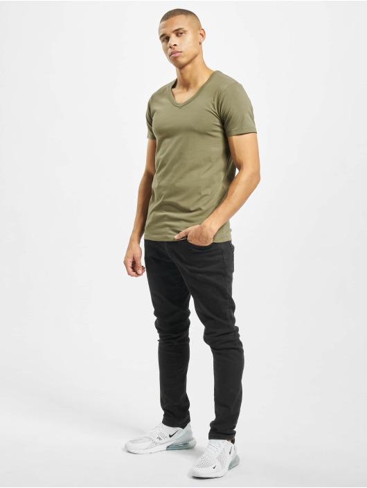Jack & Jones T-Shirt jjeBasic grün