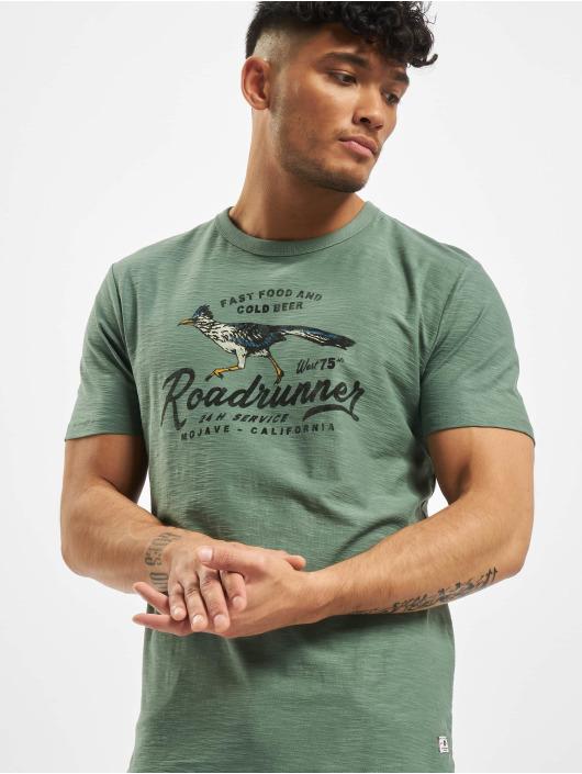 Jack & Jones T-Shirt jprWesley grün
