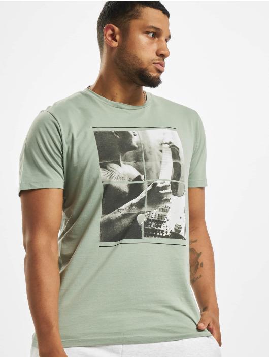 Jack & Jones T-Shirt jorCloseup Organic grün