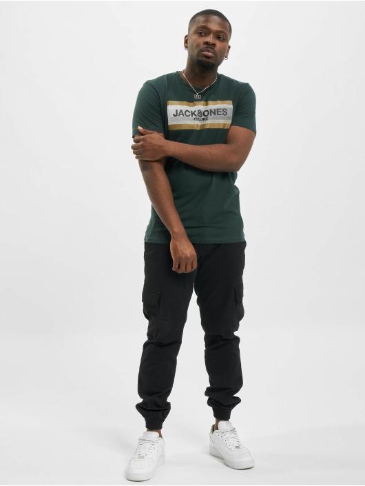 Jack & Jones T-Shirt jcoBooster grün