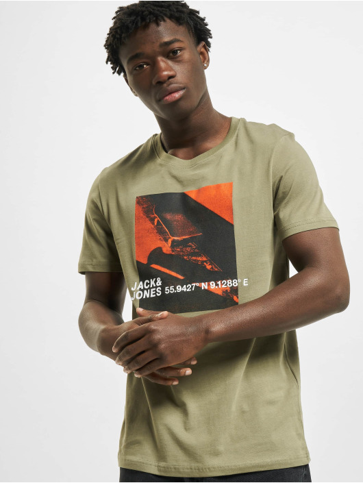 Jack & Jones T-Shirt jcoJump grün
