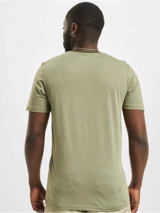 Jack & Jones T-Shirt jcoBerg Turk grün